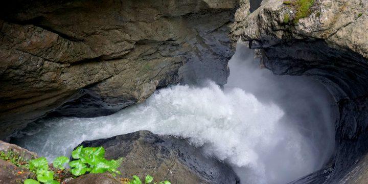 Visiting Trummelbach Falls
