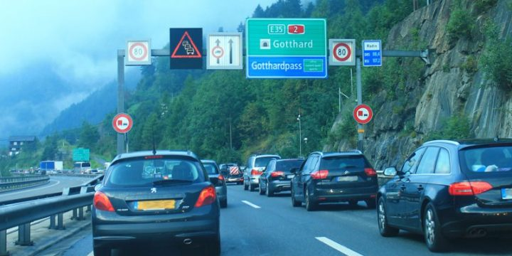 Driving to Italy from the UK, via Switzerland