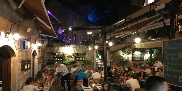Restaurants in Kotor – Reviews of our Favourites