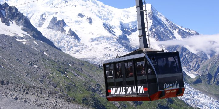 Aiguille du Midi With Children