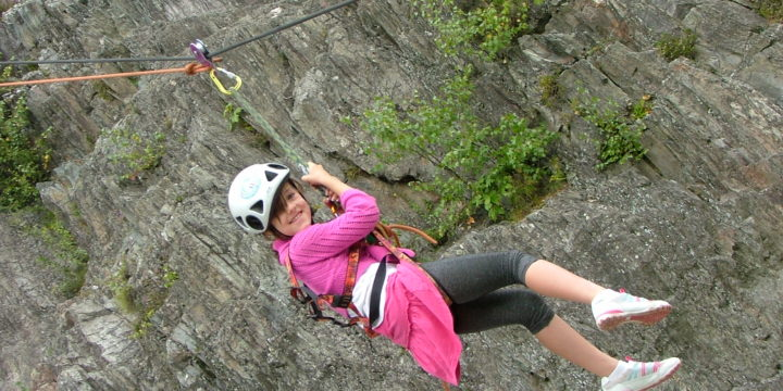 Rock Climbing at Les Gaillands, Chamonix