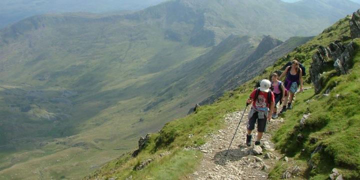 Family Walks in Snowdonia: Climbing Snowdon with Children