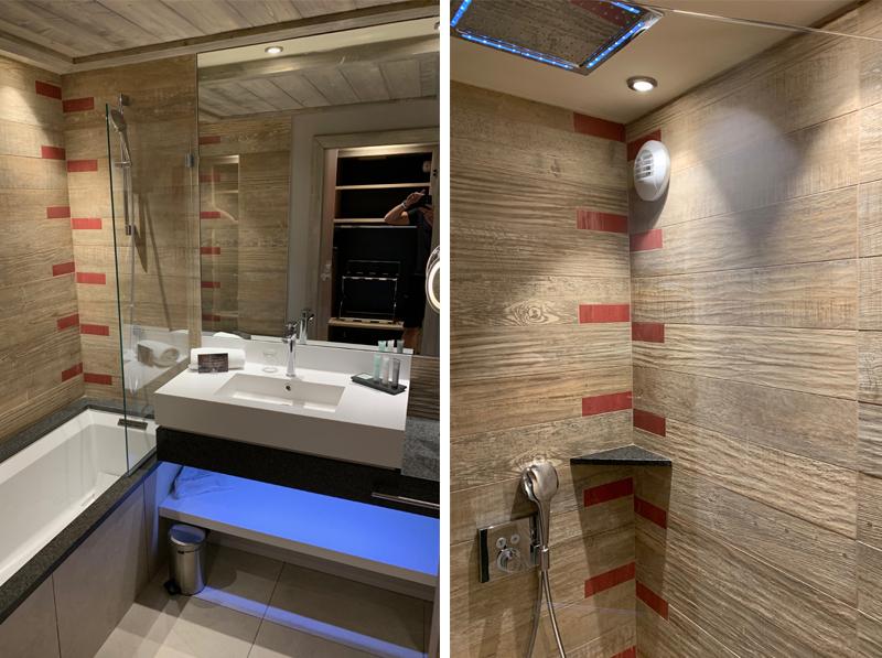 Bathroom in the Comfort Suite