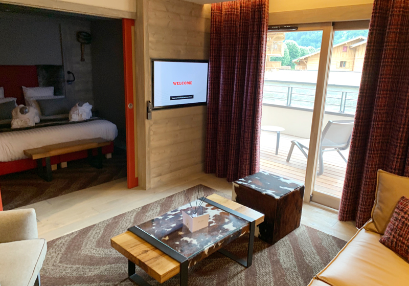 Hotel Alexane Comfort Suite view