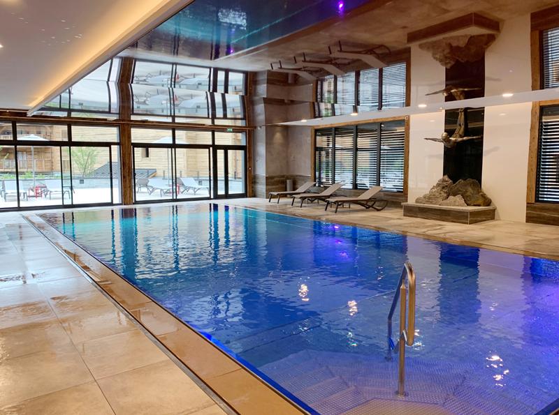 Hotel Alexane spa pool